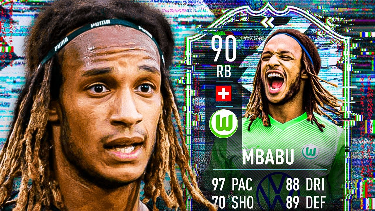 Download OH NO... ANOTHER CB?! 💀 90 FLASHBACK MBABU PLAYER REVIEW! - FIFA 21 Ultimate Team