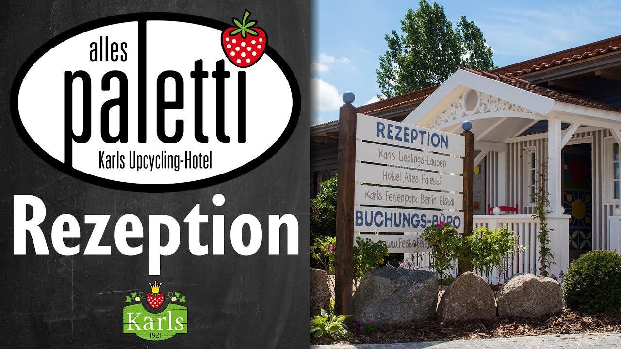 Download Die Rezeption - Alles Paletti | Karls Erlebnis Dorf