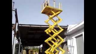 Use of  Hydraulic scissor lift platform, Goods lift, by Technical Enterprises, www.handyindia.com