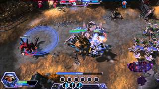 Heroes of the Storm Gameplay (PC) - 1080p GeForce GT 650M
