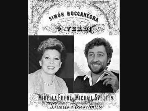 "MICHAIL SVETLEV & MIRELLA FRENI in ""Simon Boccanegra"" Duet , cond. Riccardo Chailly"