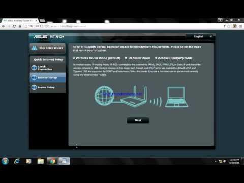 How to setup ASUS Rt n12 plus (+) router as repeater mode /easy setup tutorial by veeral kansara