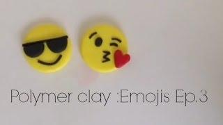 Polymer clay emojis ep.3