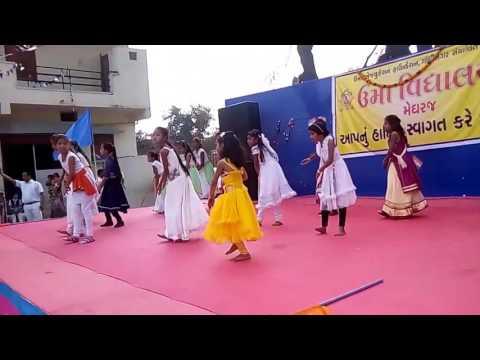 Manusya tu bada mahan hai, childern dance by Uma vidhyalay, meghraj