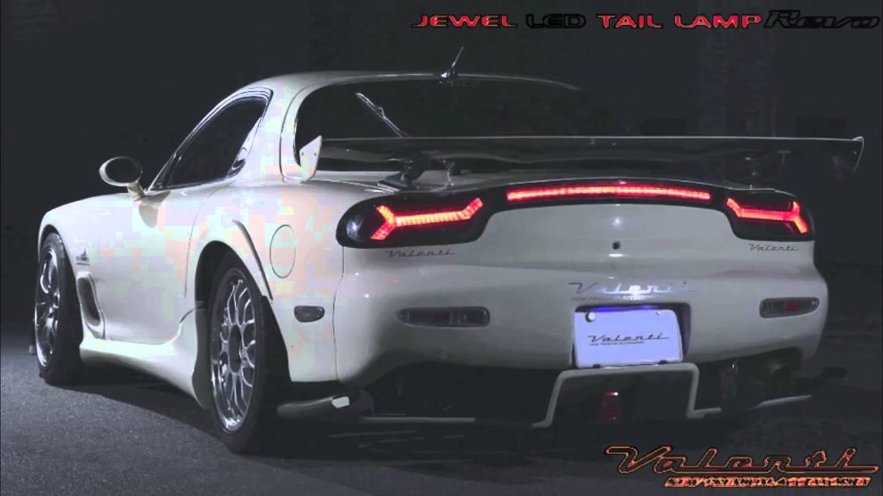 2016 Mazda Rx7 >> Valenti RX7 tail lights - YouTube