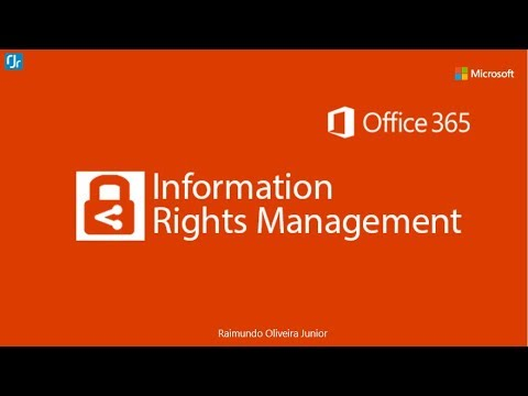 Enable Information Rights Management