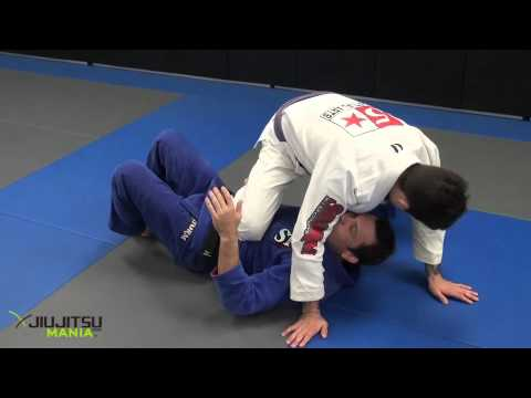 JiuJitsuMania Shawn Williams Knee on Stomach Defense
