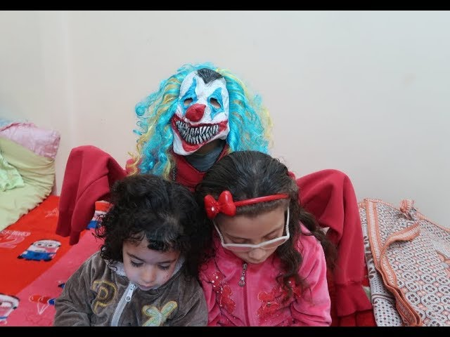 مقلب المهرج ملكه ومريم شوف اللي حصل!! prank 2019