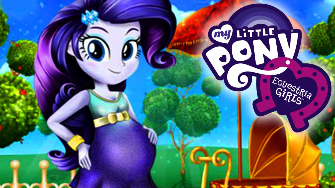 Equestria Girls Rarity Baby Birth Doctor Medical Care Game