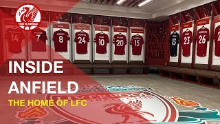 INSIDE ANFIELD | The Liverpool FC Stadium Tour