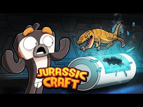 Minecraft Jurassic Craft - HATCHING NEW DINO BREED!