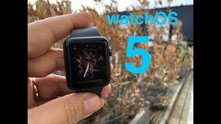 watchOS 5, Les nouveautés en français de watchOS 5