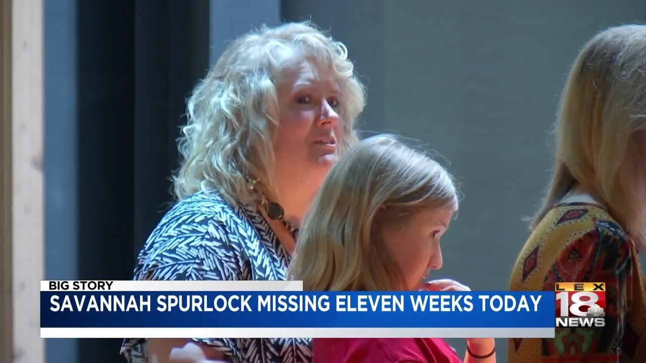 Savannah Spurlock Missing Eleven Weeks Today
