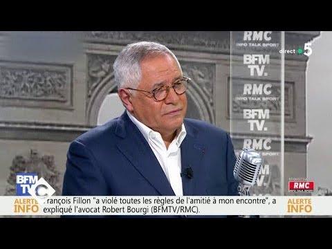 """Robert Bourgi a-t-il """"tué"""" François Fillon ? - C à Vous - 29/01/2018"""