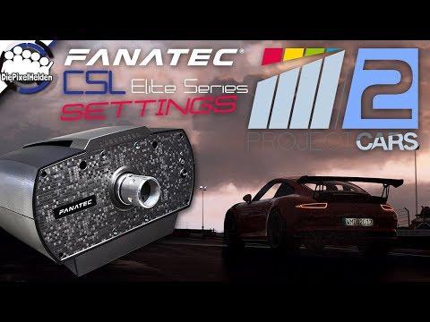 PROJECT CARS 2 - Fanatec CSL Elite Series - Force Feedback Einstellungen