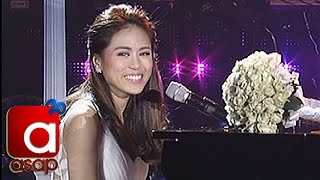 "Toni Gonzaga Sings ""i Won't Give Up"" On Her Asap Bridal Shower"