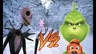 Jack Skeleton vs El Grinch Especial navideño (full music)