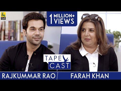Rajkummar Rao and Farah Khan  Tape Cast  FlyBeyond