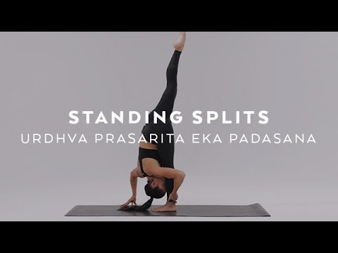 How To Do Standing Splits | Urdhva Prasarita Eka Padasana Tutorial With Briohny Smyth