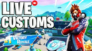 🛑😜LIVE DE FORTNITE PS4| GIVEAWAY DE 1000 V-BUCKS E CUSTOMS GAMES ! Sorteio |#186 #FORTNITE