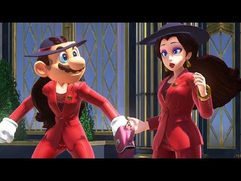 Super Mario Odyssey - Playable Pauline