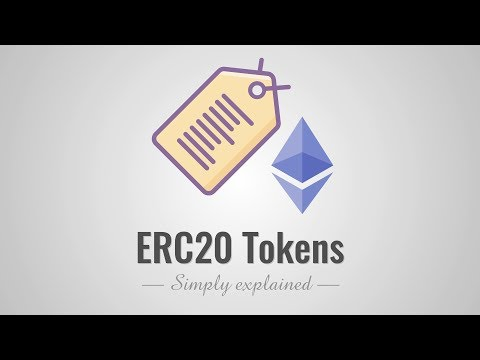 ERC20 Tokens - Simply Explained