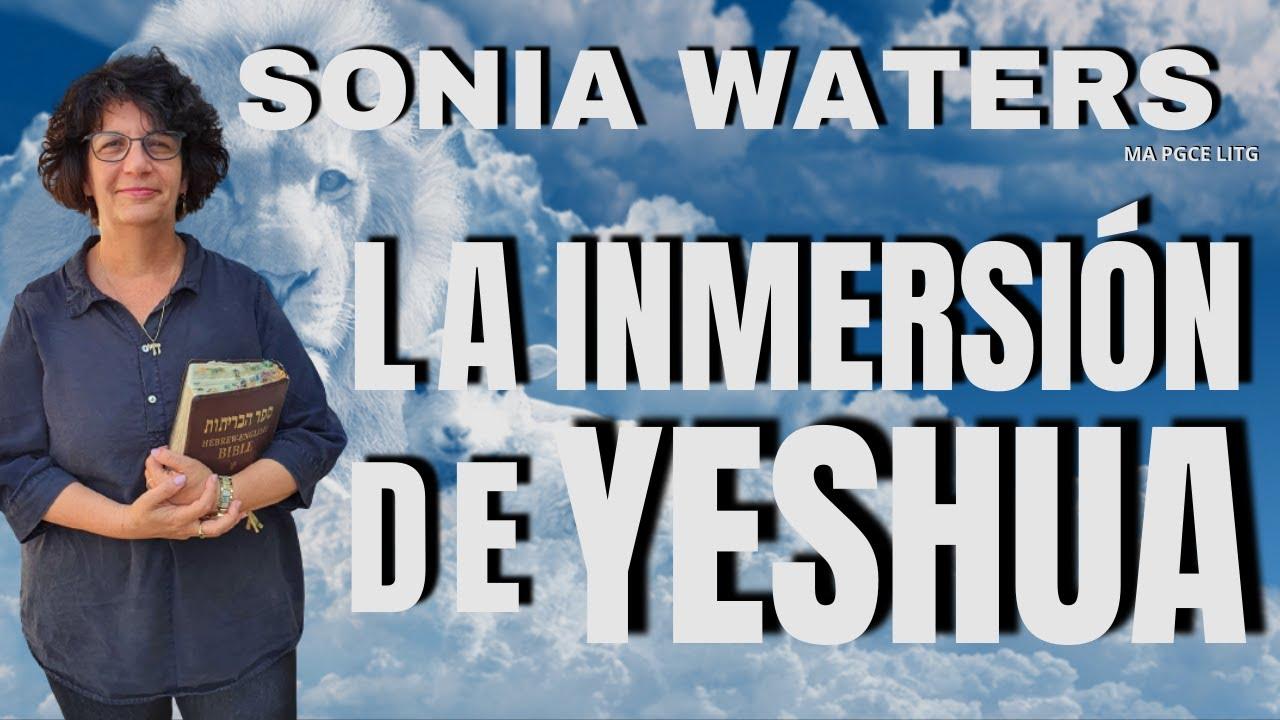 🔴 SONIA WATERS - INMERSIÓN DE YESHUA #soniawaters #israel #judiosmesianicos #profeciasbiblicas