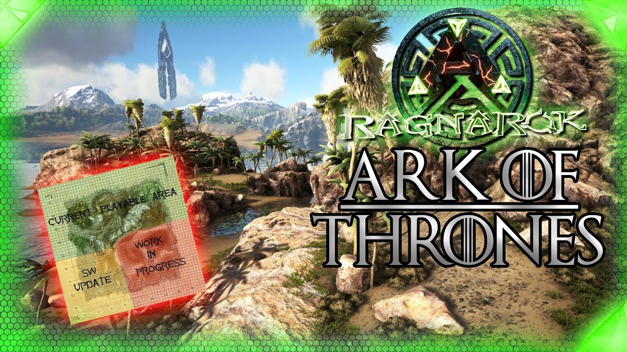 Ark Ragnarok Karte.Ark Of Thrones Karten Update Ps4 Server Folge 6 Let S Play Ark Ragnarok Deutsch Server