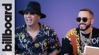Wisin Y Yandel Play 'How Well Do You Know Your Bandmate?' | Billboard