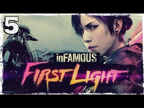 Смотреть прохождение игры [PS4] Infamous: First Light. #5: Порча товара.