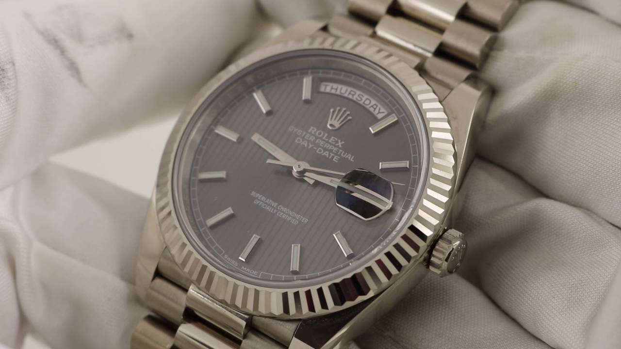 a basso prezzo 1e2b2 4959e Rolex Oyster Perpetual Day-Date 40 228239 Luxury Watch Review