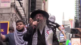 Rabbi Expressing Solidarity With Palestinian Suffering