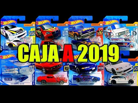 hot wheels 2019 contenido nuevo caja case a youtube. Black Bedroom Furniture Sets. Home Design Ideas