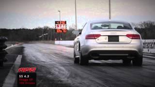 APR Audi S5 4.2L FSI V8 Stage III+ TVS1740 Supercharger System Quarter Mile!
