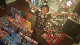 Santa Brings Pokemon Christmas Haul Early!!! Merry Christmas!!!