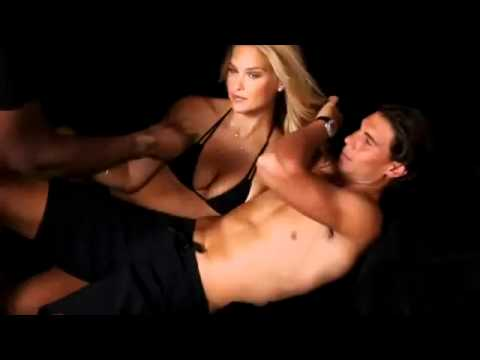 Rafael Nadal and Bar Refaeli - Sports Illustrated Outttakes