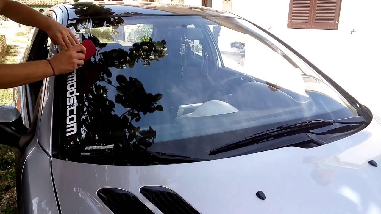 Mighty car mods sticker installation