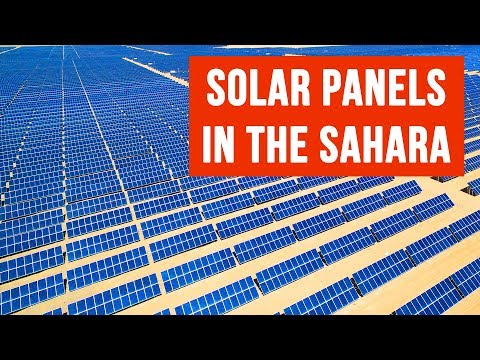 What If We Covered the Sahara With Solar Panels