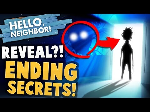 WAIT...SHADOW MAN REVEALED?! Alpha 4 Ending Secrets - Hello Neighbor Alpha 4 Gameplay (True Ending)