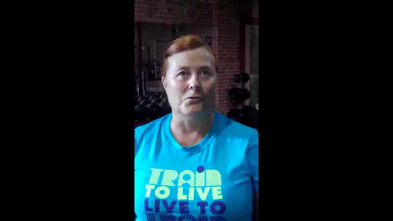 Red Deer weight loss story from 360 Fitness! - YouTube