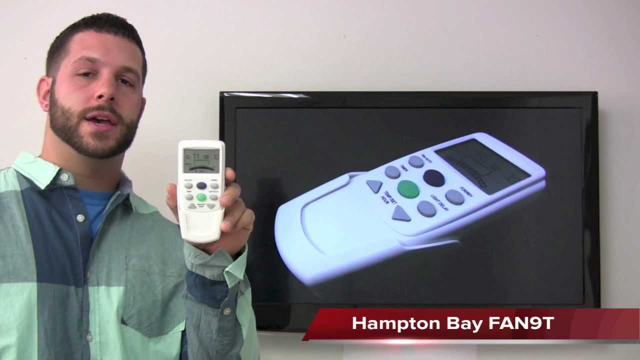 Hampton Bay FAN-9T Remote Control & Receiver 10R Review ...