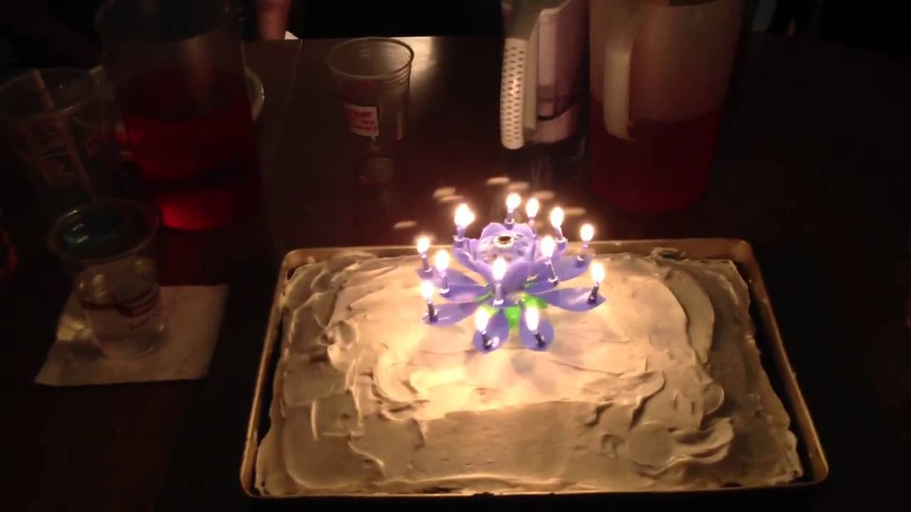 Special Birthday Candle