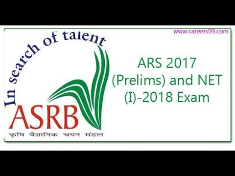 Agricultural Scientist Recruitment Board combined ARS & NET Recruitment 2018 Apply online