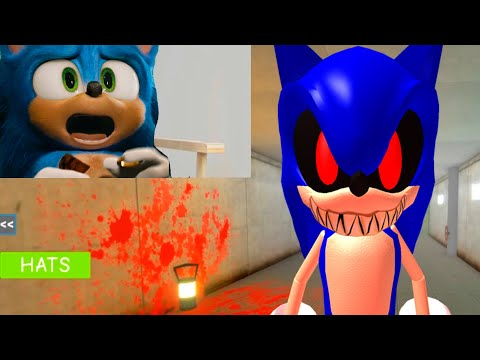 Sonic Joga Contra Sonic.exe No ROBLOXQ