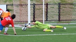 14 year old goalkeeper best saves Nicholas Kotevski 2013