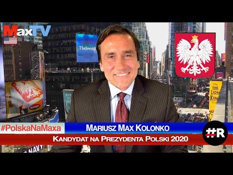Max Kolonko kandydatem na Prezydenta Polski 2020 #R REVOLUTION