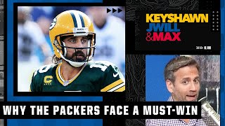 The Packers' Week 2 matchup vs. the Lions is a must-win game - Max Kellerman | KJM