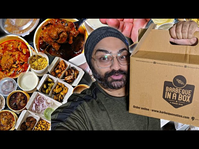Honest Review Barbeque Nation Buffet Home Delivery