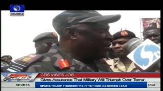 Jos Explosions: Chief Of Defence Staff Visits Jos