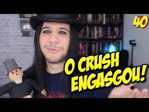 FEZ O CRUSH ENGASGAR - Lendo Comentários